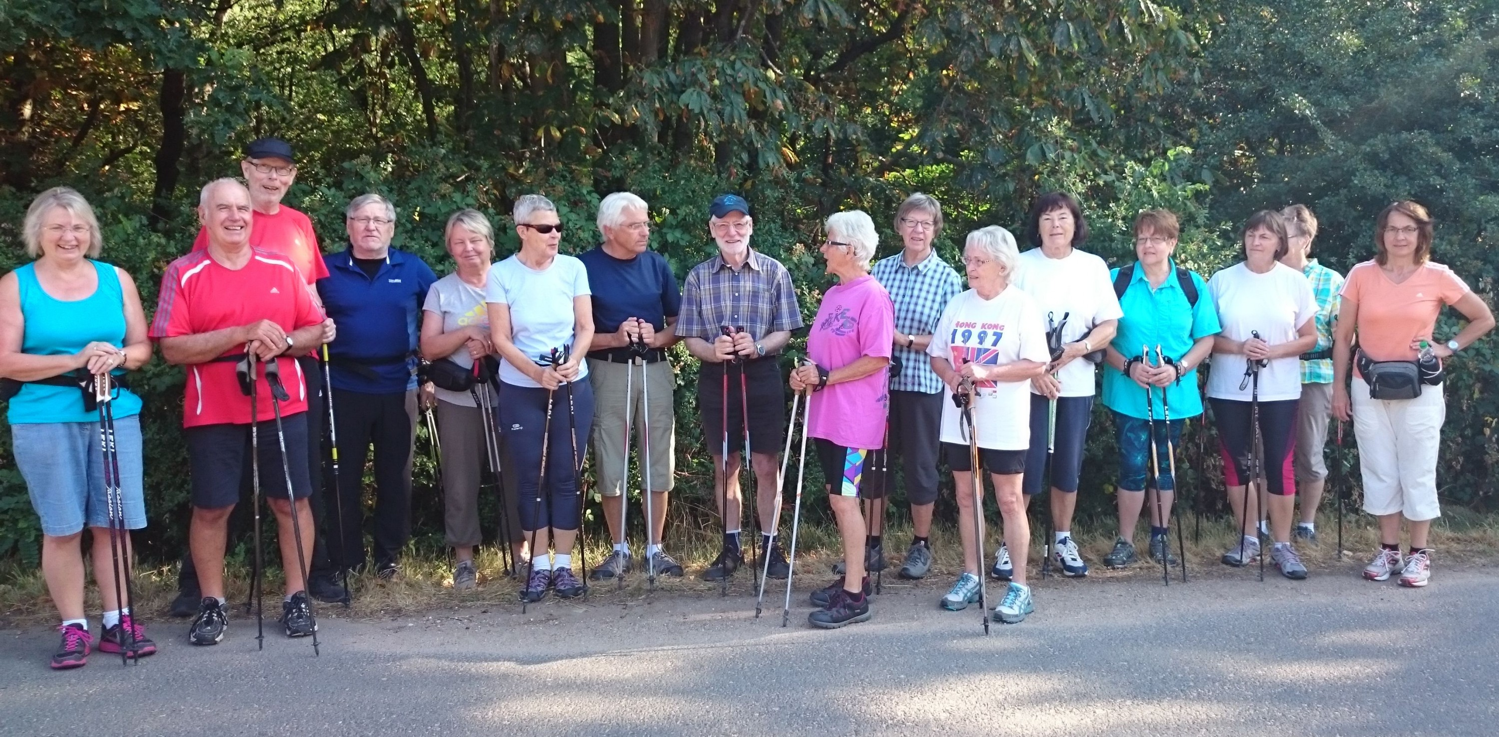 Nordic-Walking auch morgens