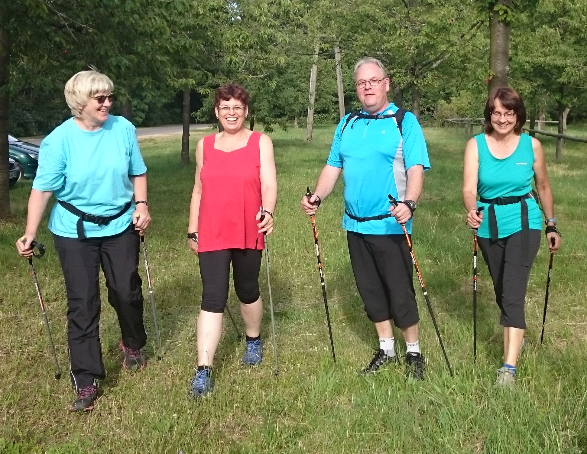 Nordic-Walking Trainerteam