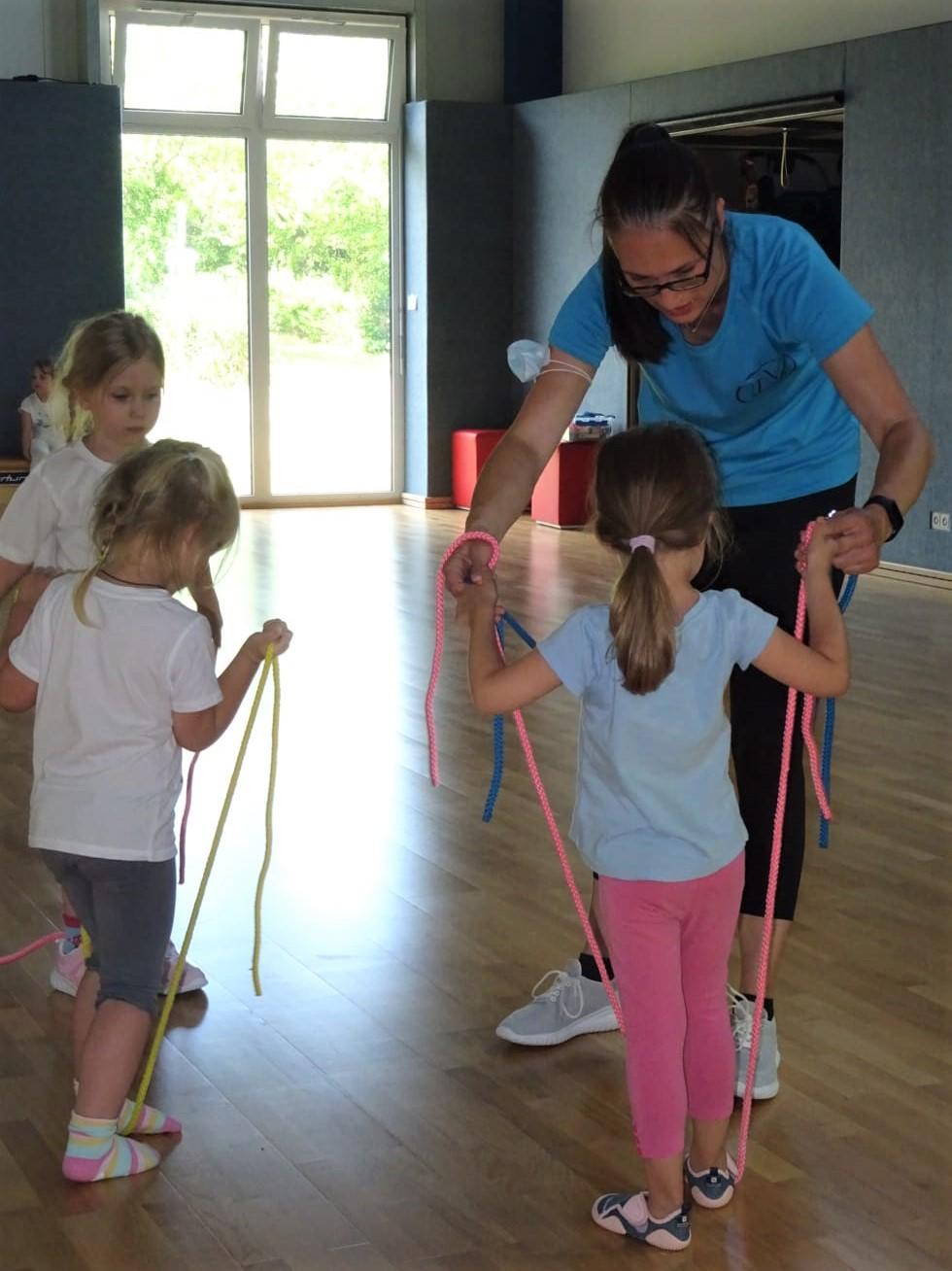 Foto vom Kinderturnen beim TV Langenlonsheim